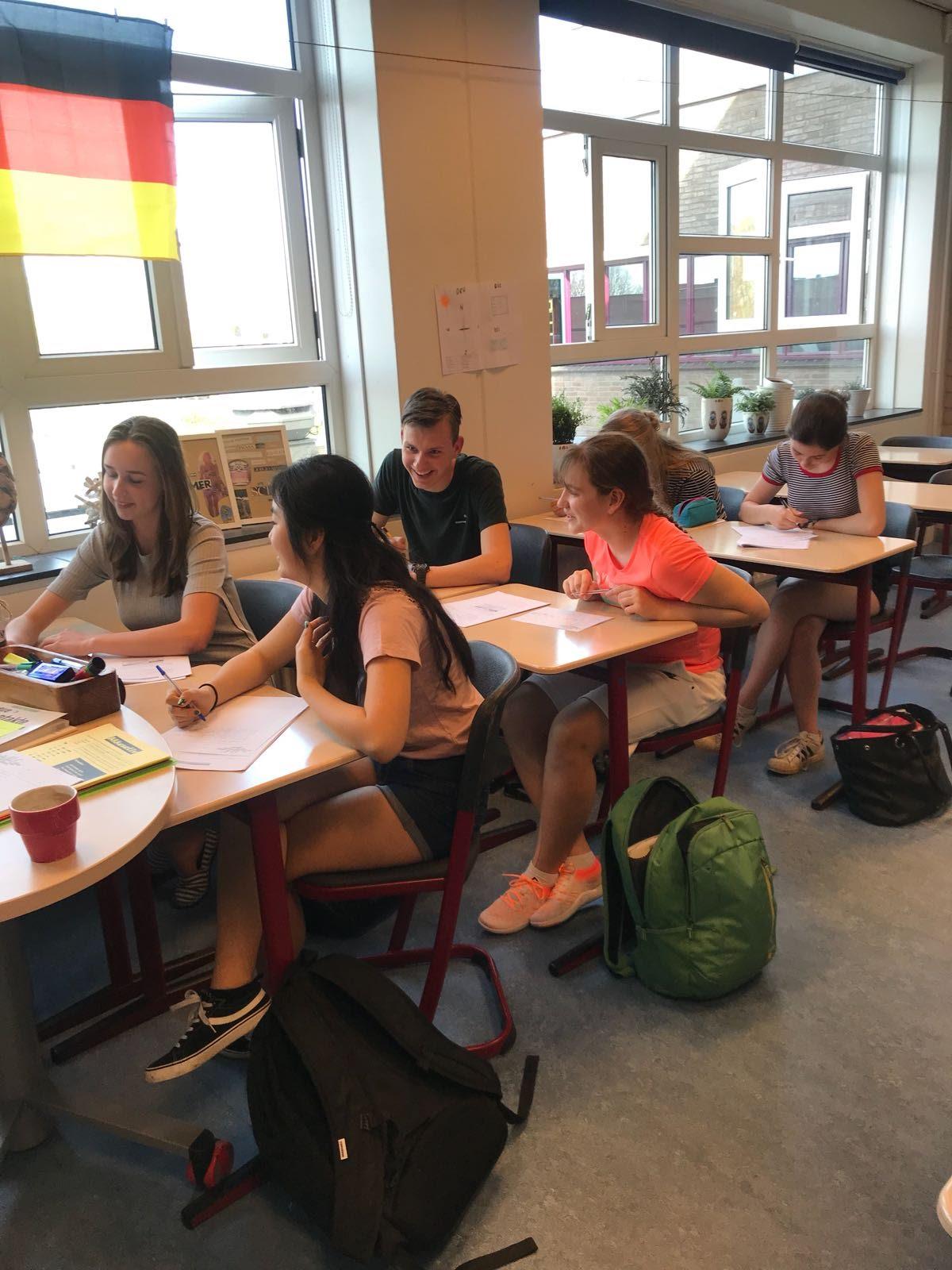Goethe Zertifikat op het VeenLanden College